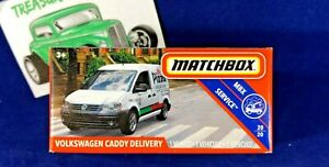 Matchbox -Volkswagen Caddy Delivery Pizza - MBX Service #20/20  POWER GRAB - S44