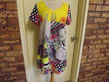 Milly & Maude Cute Summer Mini Dress sz L