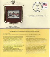 Historic Stamps of America CHARLES M. RUSSELL Commemorative Stamp