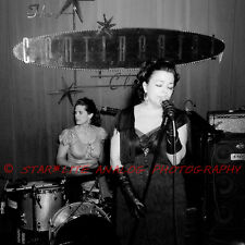"Marti Brom Continental Club Austin TX film photography print 24"" Rockabilly VLV"