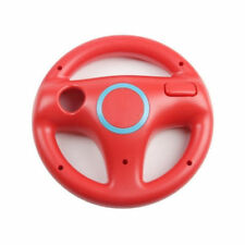 Red Game Racing Steering Wheel For Nintendo Wii Mario Kart Remote Controller
