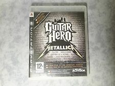 GUITAR HERO METALLICA - SONY PS3 PLAYSTATION 3 PAL ITALIANO COMPLETO COME NUOVO