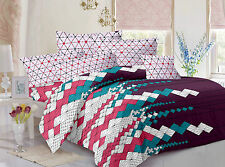 Valtellina Pure Cotton 1 King Size Bedsheet with 2 pillow Covers -TR_LV-05