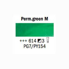 Rembrandt Tube de 40 ml d'huile extra fine N°614 vert permanent moyen Serie 3 NE