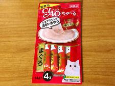 Ciao Churu Cat Treats Maguro Tuna Inaba Japan 14g x 4pcs