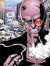 Comic Book Transmetropolitan American Glasses Spider Cartoon Canvas Art Print