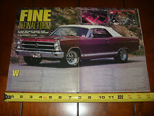 1966 FORD FAIRLANE GTA CONVERTIBLE - ORIGINAL 2002 ARTICLE
