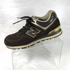New Balance 574 Men's Running Shoes Brown Size 10