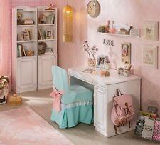 Kinderschreibtisch weiß Schülerschreibtisch Schreibtisch Mädchen Tisch Selena