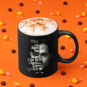 Supernatural When Life Beats You Down Always Keep Fighting Coffee Mug Tea Cup