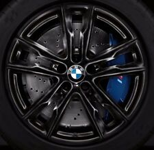 "BMW OEM F85 X5 M F86 X6 M Style 611 Black M Double Spoke 20"" Wheel Set Of 4 New"