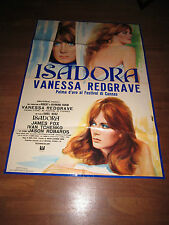 MANIFESTO LOVES OF ISADORA VANESSA REDGRAVE Karel Reisz J. Robards CANNES  1969
