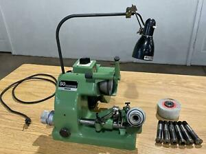 Deckel SO Single Lip Tool & Cutter Grinder, 120V, with collets & more