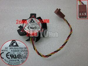 Delta 12V 0.16A P/N:0PGH1 For dell Vostro 360 2320 Cooling Fan ASB0412VHA 3-Pin
