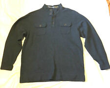 Method Men's Long Sleeve Knit Top  Blue  Size Large
