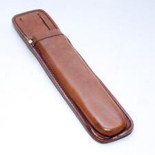 Flat Ratchet Spanner - Handmade Leather Scaffold Spanner Tool Belt Holder