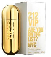 212 VIP by Carolina Herrera 2.7 oz EDP Perfume for Women New In Box