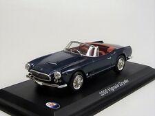 Maserati 3500 viginale Spyder metallic-bleu LEO Models nouveau dans neuf dans sa boîte 1/43