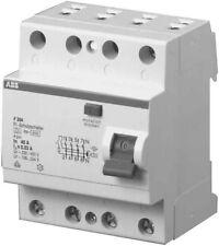 Abb fi Switch Rcd Residual Current Schutzschalter F204A-25/0,3 25A 300mA 4 Pin