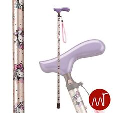 NEW  Hello Kitty folding cane HK-23 Champagne Gold Height adjustment 150~170cm