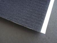 Scratch agrippant adhésif 20 mm noir COTE DUR UNIQUEMENT vendu au mètre
