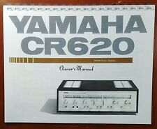 Yamaha CR-620 Stereo Receiver Owners Manual