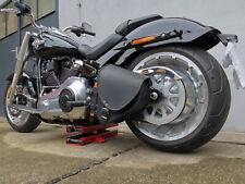 Harley Davidson Diablo Black Fatbob 2018 Streetbob Fatboy Softail Satteltasche