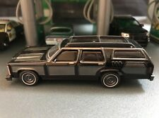 FORD LTD WAGON KING BLACK RARE 1/64 LIMITED EDITION DIECAST COLLECTIBLE MODEL