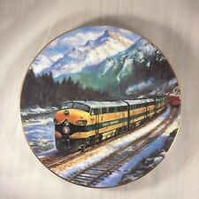 The Empire Builder 1991 The Golden Age of American Railroads Collector Plate