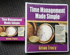 Time Management Made Simple Training Kit by Brian Tracy. 12 audio cds & workbook