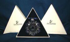Swarovski 1999 Snowflake Christmas Ornament w/ Box