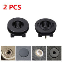 2x Universal Durable ABS Plastic Black Car Mat Carpet Clips New High Quality