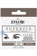 EYLURE CLEAR SUPER FIX SUPERFIX INDIVIDUAL EYELASH GLUE 6ML LASH EXTEN. ADHESIVE