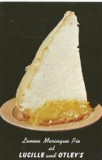 Boynton Beach FL Lucille & Otley's Pie That Looks Like KKK Outfit Postcard 1960s