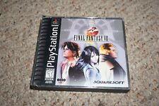 Final Fantasy Viii 8 Original Black (Sony Playstation 1 ps1) w/ Case