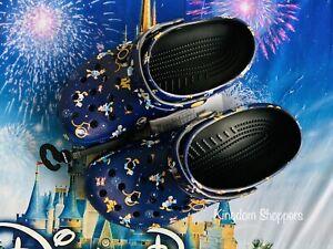 2021 Disney Parks 50th Anniversary Celebration ADULT CROCS NWT M 11