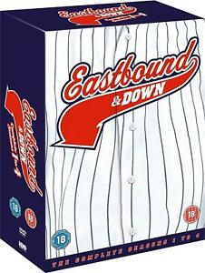 Eastbound And Down Season 1 2 3 4 TV The Complete Series 1-4 R4 DVD Collection &