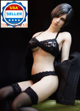"""1/6 Black Lace Bra Panties Set For 12"""" PHICEN Hot Toys Female Figure ❶USA❶"""