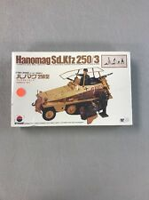 Hanomag Sd.Kfz 250/3 Nitto Kagaku Model Kit #421 Scale Craft CIB Vintage SEALED