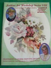 GARY &  KATHWREN JENKINS ART WORKSHOP VIII 8 1995  OIL PBS TV SERIES PAINT BOOK