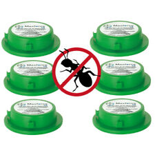 6 x MAXFORCE PROFESSIONAL Ant Killer Gel INDOOR/OUTDOOR Bait Station KILLS NEST