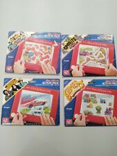 Etch A Sketch Action Pack Lot dukes of Hazzard batman games sports rare 1981