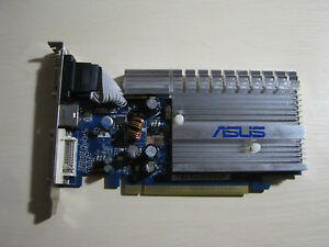 ASUS NVIDIA GeForce 7200GS PCI-E 256MB DDR2 (EN7200GS/HTD/256) DVI/VGA TEST OK!