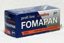 5 rolls FOMAPAN 200 B&W 120 Medium Format Camera Film