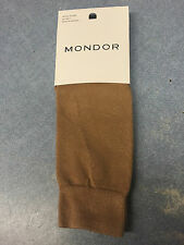Mondor Figure Skate Knee-Highs Junior size Caramel color, cotton, nylon, lycra
