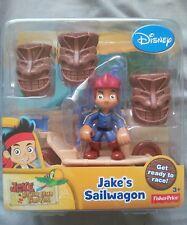Disney's Jake And The Neverland Pirates Jake's sailwagon  new and sealed