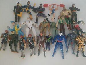 Vintage Retro Action figures Toys 90's Joblot Mixed Bundle