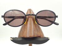Vintage Police 2410 531 Black Metal Oval Eyeglasses Sunglasses FRAMES ONLY