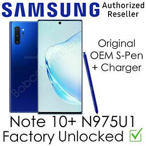 Samsung Galaxy Note10+ Plus N975U1 256GB AT&T Sprint Verizon Factory Unlocked