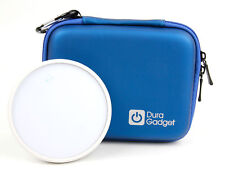 Blue Camera Case/Holder with Dual Zip For Dodow Sleep Metronome
